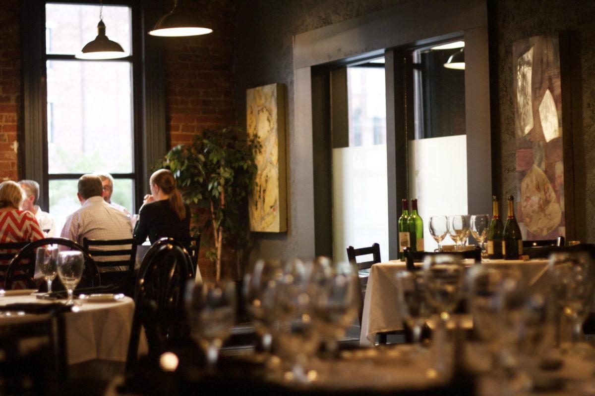 Omaha Prime Restaurant Dining Room